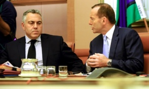 abbott and hockey blind lead the blind