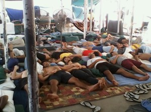hunger strikers on Manus Island