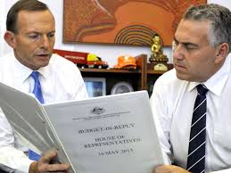 111 abbott and hockey on budget