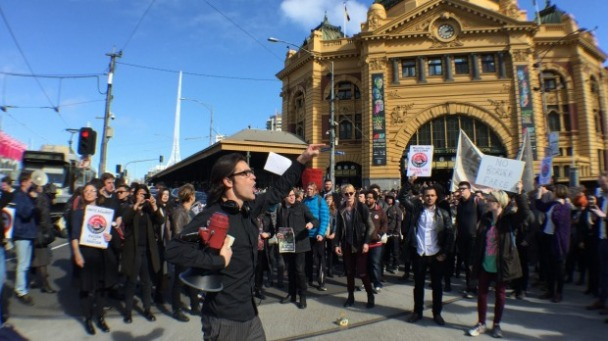 flinders street crackdown