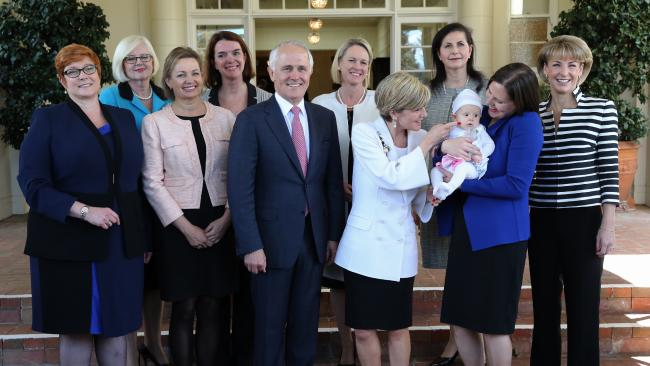 tunrbull and women in cabinet