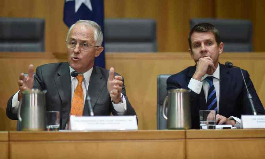 coag - turnbull bloviates while Baird listens