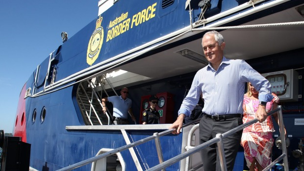border patrol malcolm turnbull