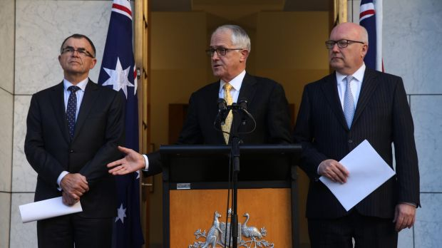 Brandis, Turnbull present Brian Ross Martin
