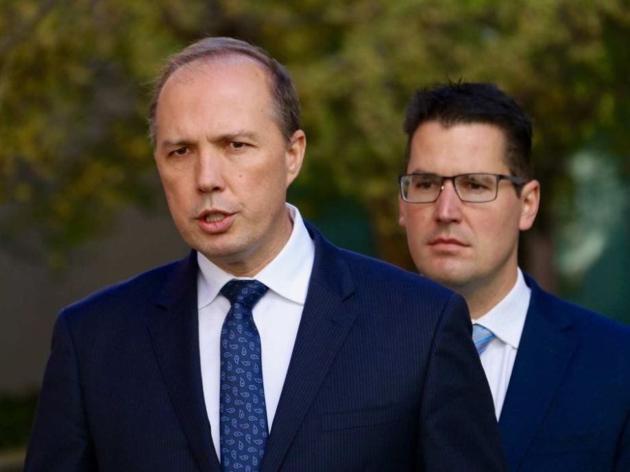 Dutton looking nuts
