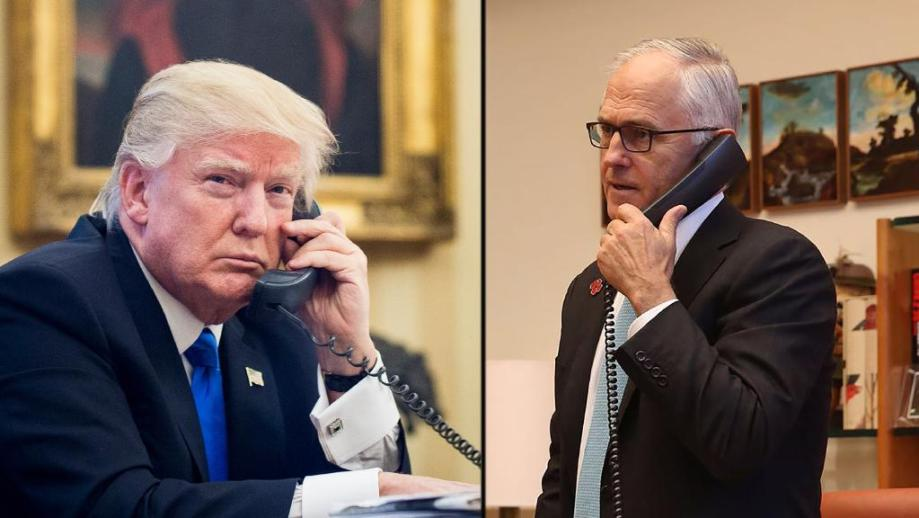 turnbull-and-trump-on-the-phone