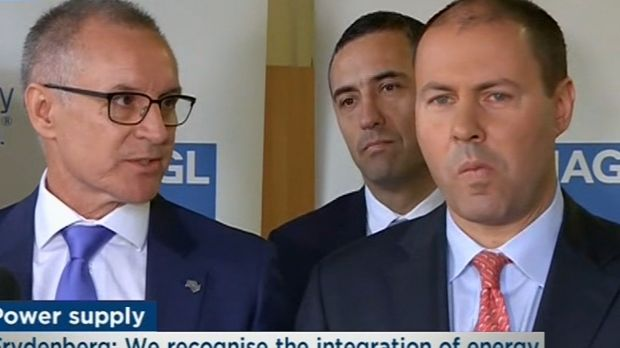 weatherill talks to josh frydenberg