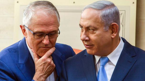 turnbull and netanyahu jerusalem