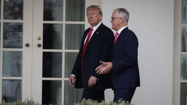 turnbull trumped by trump