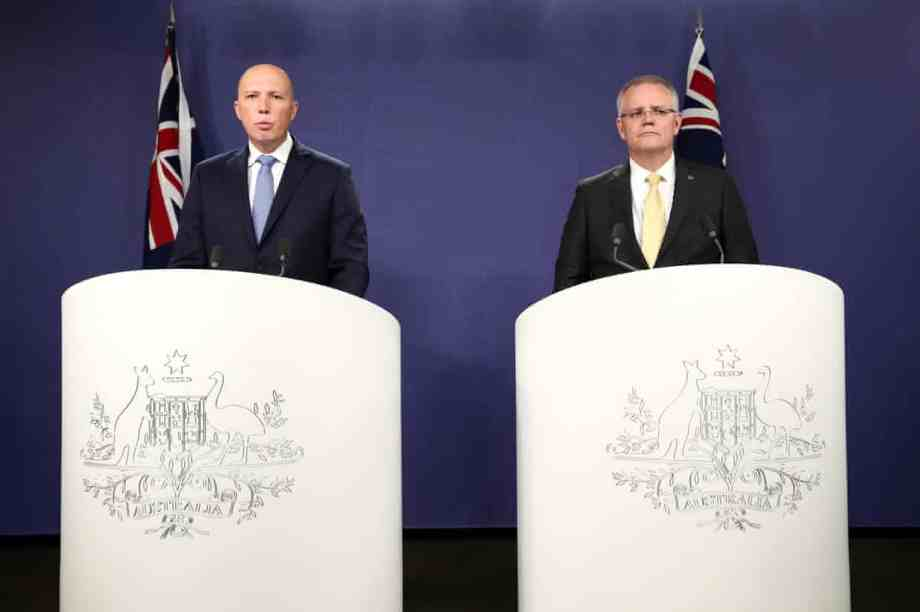 Dutton and Morrison looking shifty