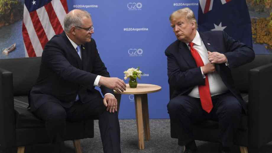 morrison and trump