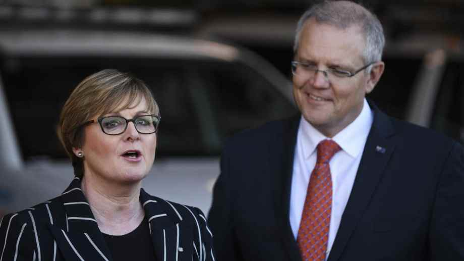 linda reynolds and old scomo